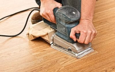 Levigatura, sigillatura e finitura pavimenti in legno (lamatura)