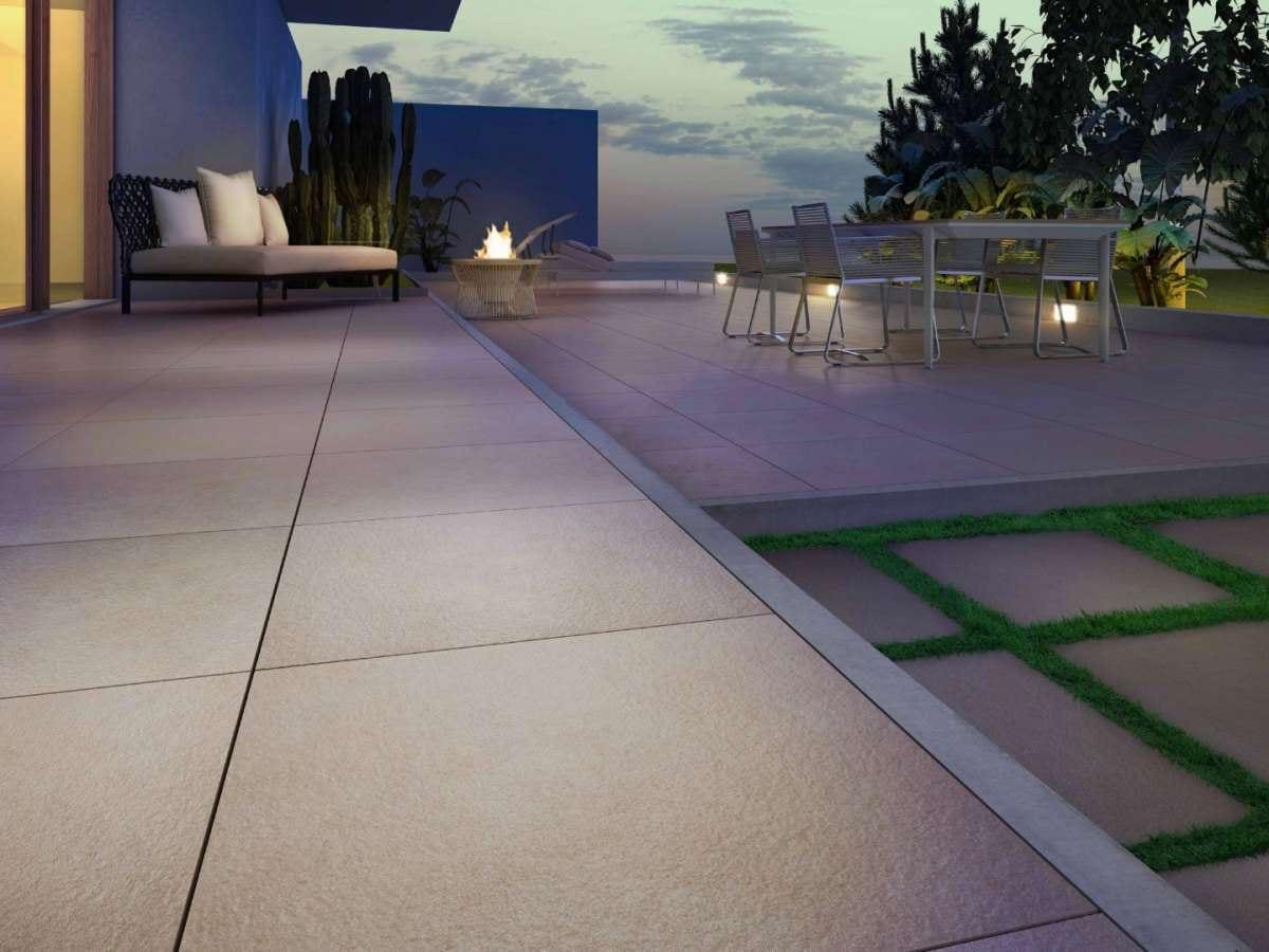 Pavimenti per esterni in gres porcellanato e ceramica outdoor
