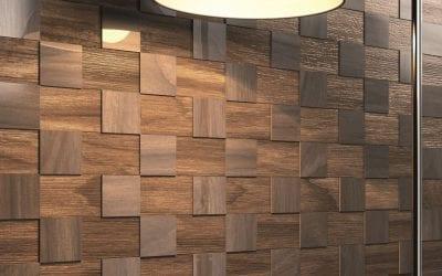 Rivestimento di pareti in legno